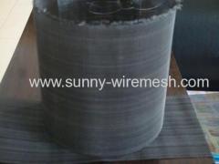 Twill Weaving Black Wire Cloth