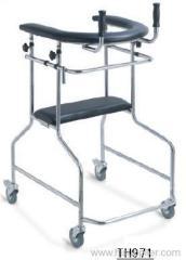 Large folding walker