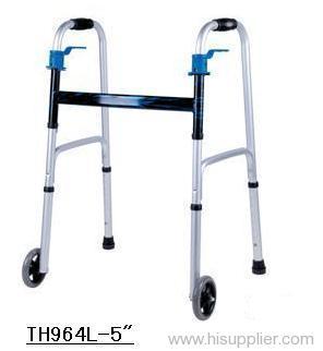 Adult two-gap folding walker
