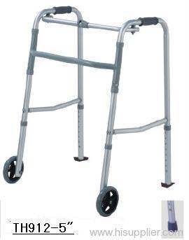 Aluminum Folding Walker w/ Wheel