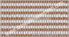decorative metal fabric / curtain