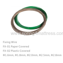 Sofa spring fixing wire