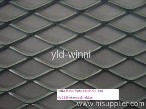 not flattened and not galvanized expanded metals