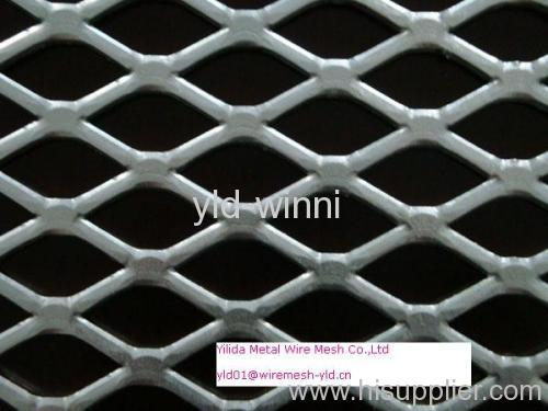 flattened and hot dip galvanized expanded metals