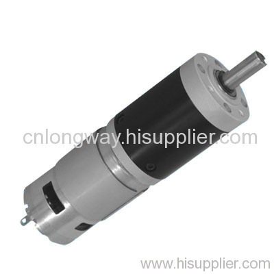 dc motor with gear box