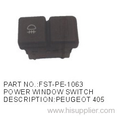 POWER WINDOW SWITCH PEUGEOT 405