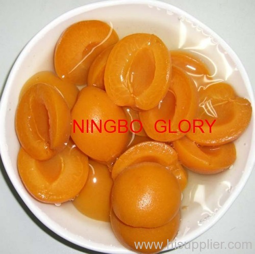 canned apricot with skin