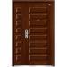 non standard wood steel door