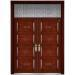 nonstandard wood steel door