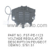 PEUGEOT AUTO VOLTAGE REGULATOR