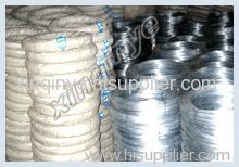 Galvanized metal iron wires