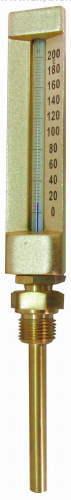 SS bimetal thermometer