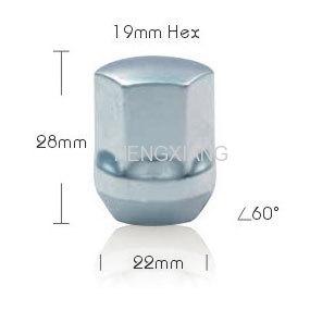 chrome lockings lug nut