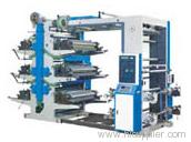 Center-impress style flexo printing machine