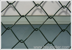 Galvanized diamond wire mesh