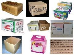Corrugated Carton box, Corrugated board