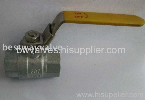 ball valve with lock