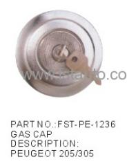 fuel cap lock PEUGEOT