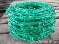 PVC barbed wires