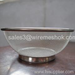 stainless steel mesh strainer