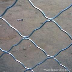 Galvanized Beautiful Grid Wire Mesh
