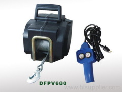 Micro Electric Rope Hoist
