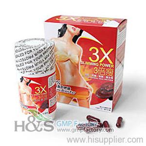 3X slimming power diet pill