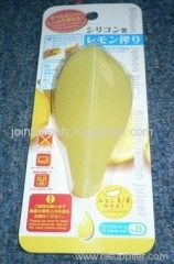 silicone lemon juicer