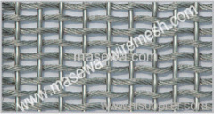 Stainless steel woven fabric