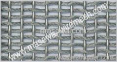 Metal tela no tejida