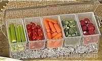 rectangular COLD SALAD TRAY