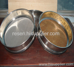 Metall-Test Sieve