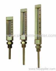 straight industrial thermometer