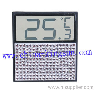 Digital Thermometer W/crystal