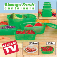 Stay Fresh Green Containers