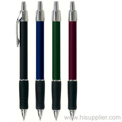 promotional ball pen with metal clip