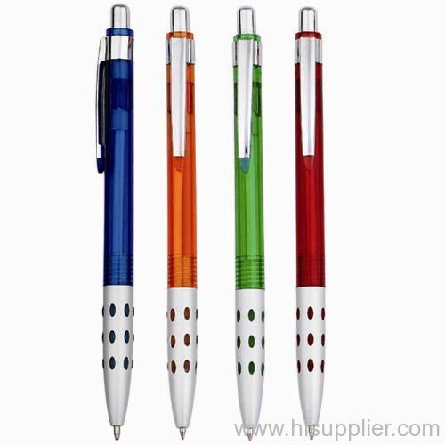 retractable plastice ball pens