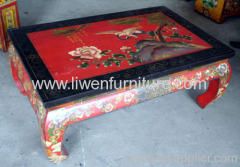 antique reproduction coffee table
