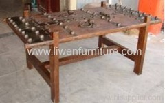 Antique dinning table iron