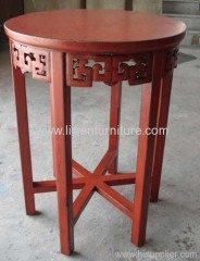 Chinese antique pedestal for potted flower