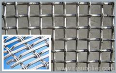 galvanized crimped wire mesh coils