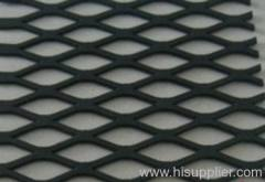 PE coated expanded metal mesh