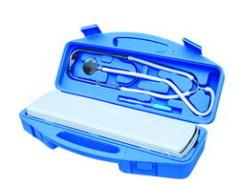 sphygmomanometer and stethoscope case unit
