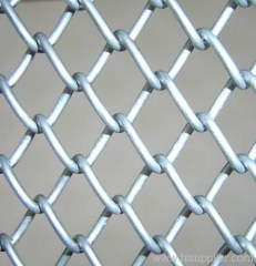 PVC diamond fence