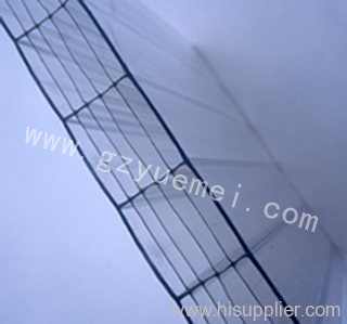 Polycarbonate Six wall Hollow Sheet