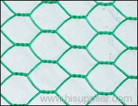 Flection shape hexagonal wire mesh
