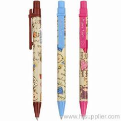 recycled ballpoint pens