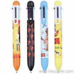6 color ball pens