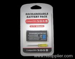 NDSI Rechargeable battery