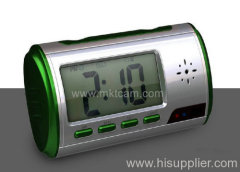 Mini Motion Table clock camera